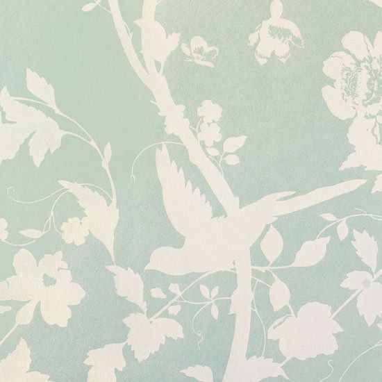 Bird wallpaper from Laura Ashley   Statement wallpapers   wallpaper ideas   PHOTO GALLERY   housetohome.co.uk