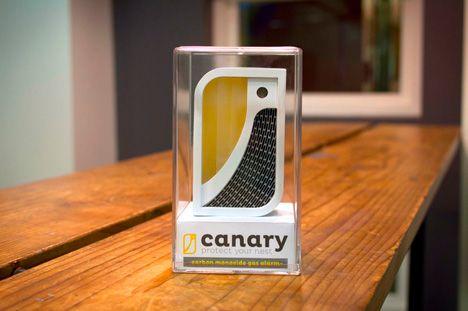 Canary, modern carbon monoxide tester...smart idea!