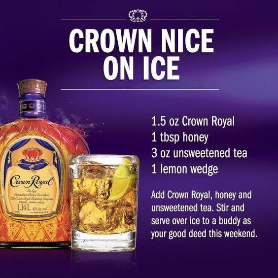 Crown Royal lemon drink