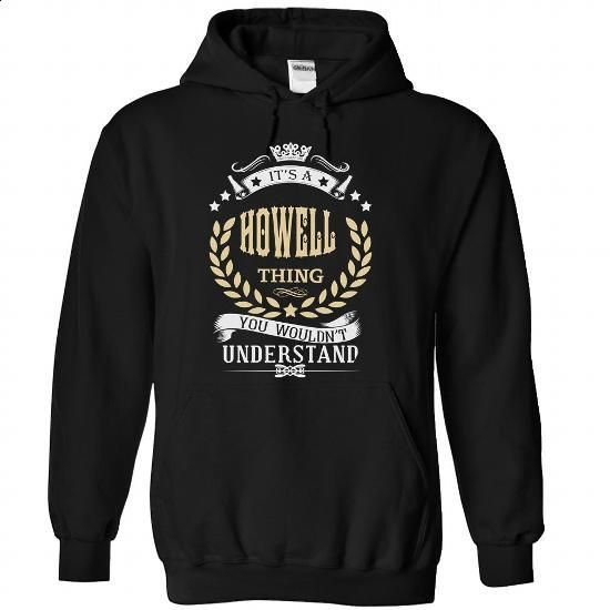 HOWELL-the-awesome - #customized hoodies #best sweatshirt. CHECK PRICE => https://www.sunfrog.com/LifeStyle/HOWELL-the-awesome-Black-74369717-Hoodie.html?id=60505