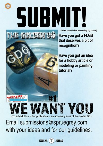 We want you for #thegoldend6 email submissions@spruegrey.com