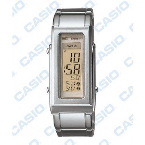 Sheen SHN-1001F-7A Fashion Women Rectangle Dial Digital Watch $129 ...