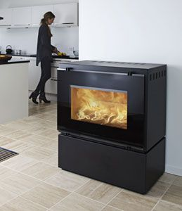 HWAM 3055 Wood Stove #thefirebird #santafe #staywarm
