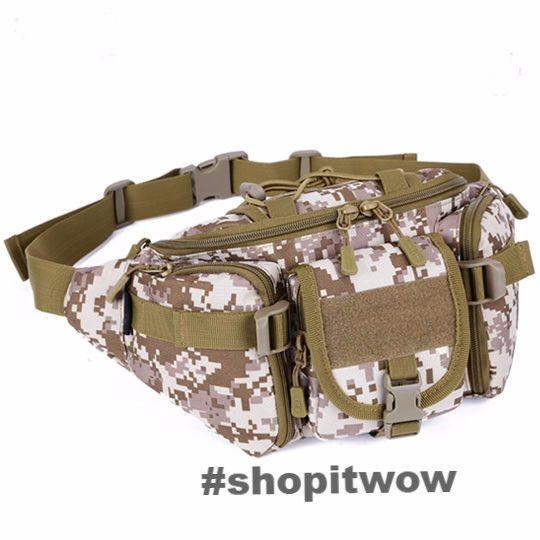 Molle Fanny Pack Bags Waterproof Heavy Duty