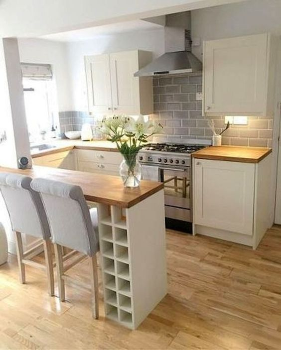 50 Cozy Small Kitchen Design Ideas On A Budget kitchen #50 #cozy #small #kitchen #design #ideas #on #a #budget