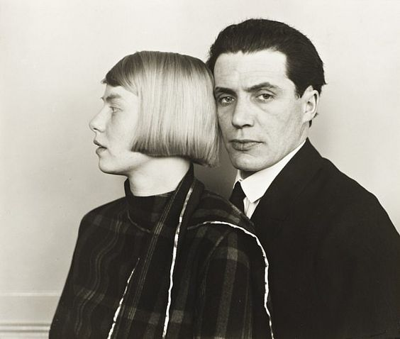 The Architect Hans Heinz Luttgen and his Wife Dora, 1926