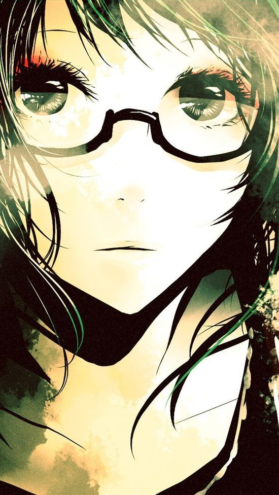 Anime Characters Glasses : I miss u girls and glasses on pinterest