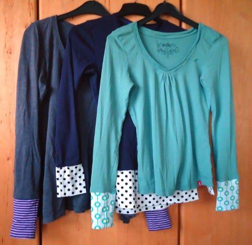Ökoraum Blog: Shirt-Upcycling Teil 2