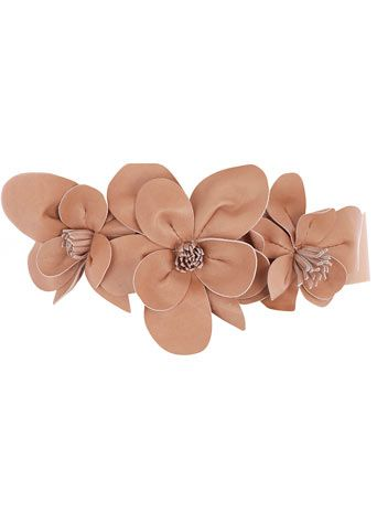 Coffee leather corsage belt      Price: £20.00