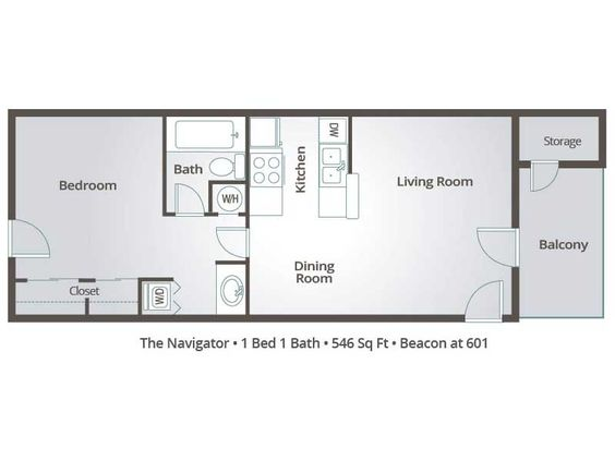 apartment floor plans one bedroom apartments and one bedroom on