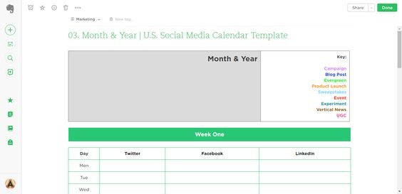 Social Media Calendar Template Process Street Pinterest - social media calendar template