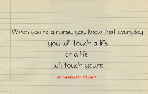 This is what makes nursing great! #nurse