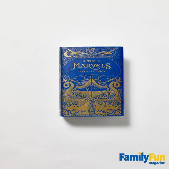 Brian Selznick's 640-page illustrated novel, The Marvels, follows in the style of his Caldecott-winning The Invention of Hugo Cabret. Through rich prose and dramatic drawings, this masterwork intertwines two generation-jumping tales. Ages 10 and up Scholastic, $33