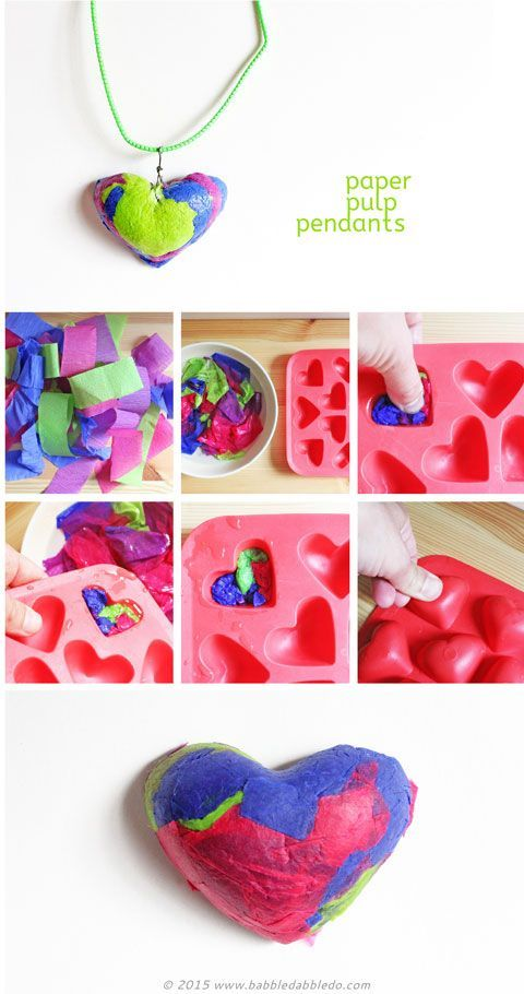 Paper crafts paper pulp pendants papeles artesanales paper crafts paper pendants made from recycled tissue paper aloadofball Images