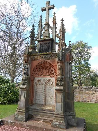 Rosslyn Chapel: On chapel grounds