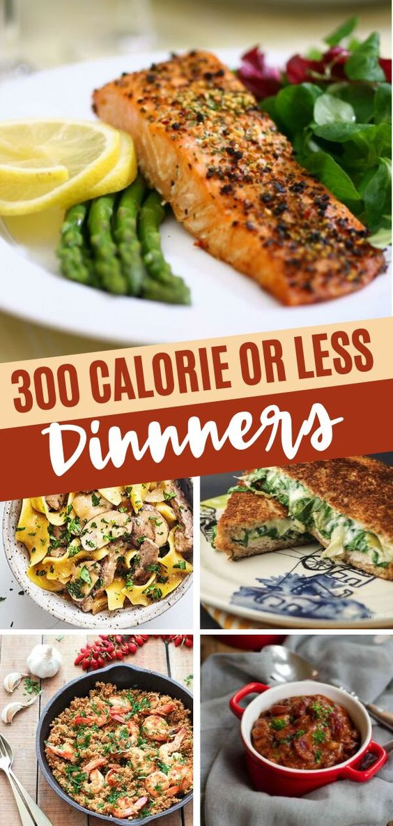 300 Calorie Or Less Dinners To Kick Off The 'New You'