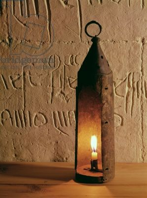 Medieval lantern, found in Smithfield, London (copper alloy)