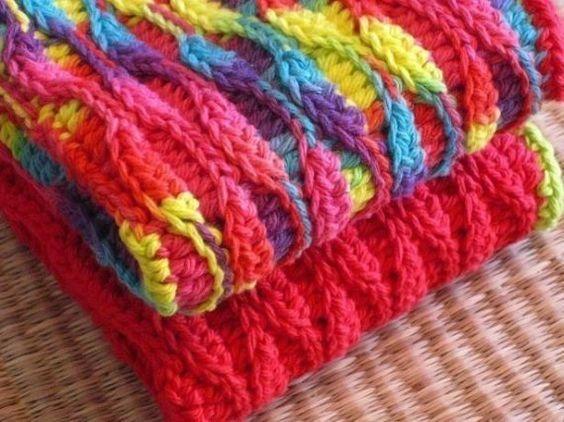 Crochet Dishcloths Waves And Patterns On Pinterest