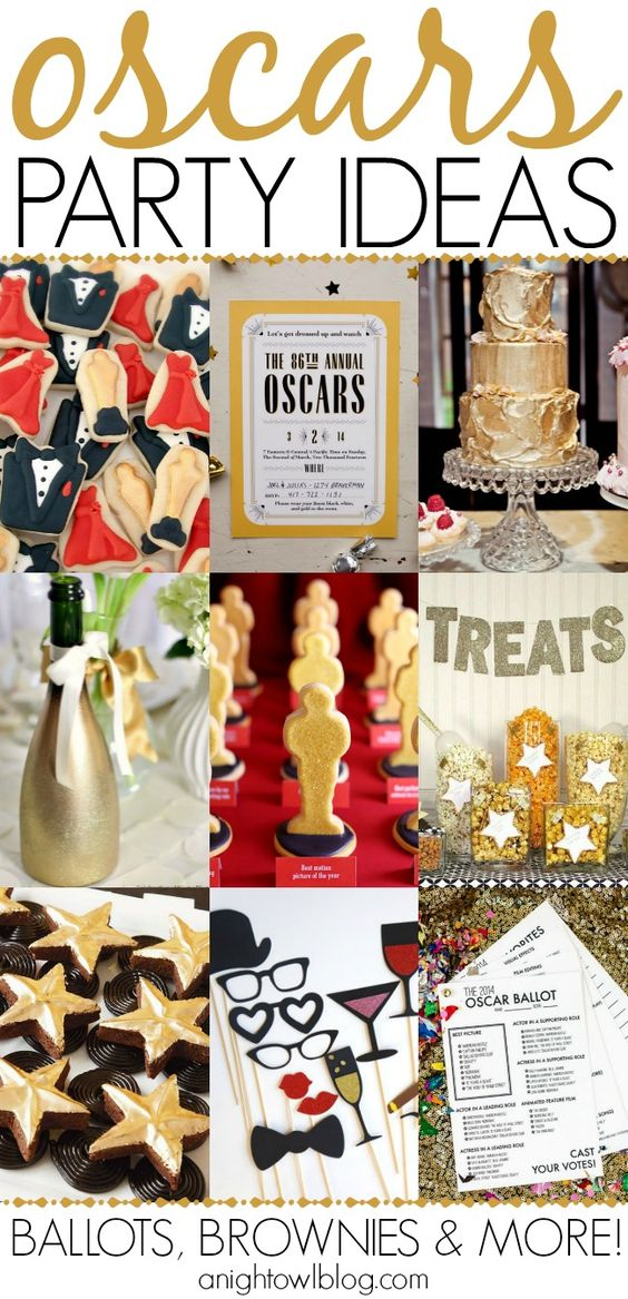 Last minute oscar party ideas recipes for snacks for Last minute party ideas