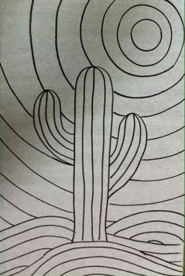 Mosaiquismo mosaiquismo pinterest cactus desiertos for Dibujos para mosaiquismo