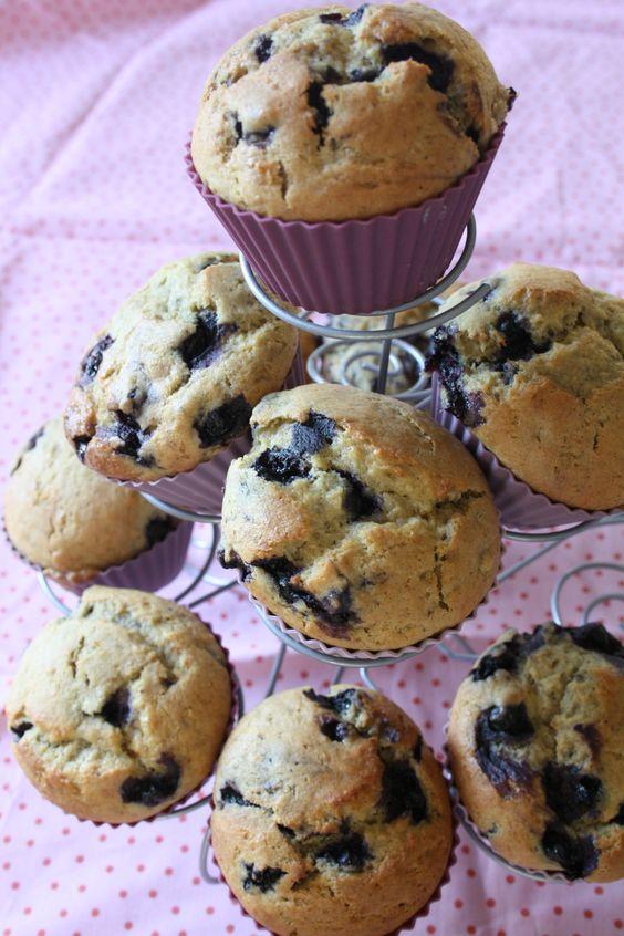 Muffins myrtille végétaliens