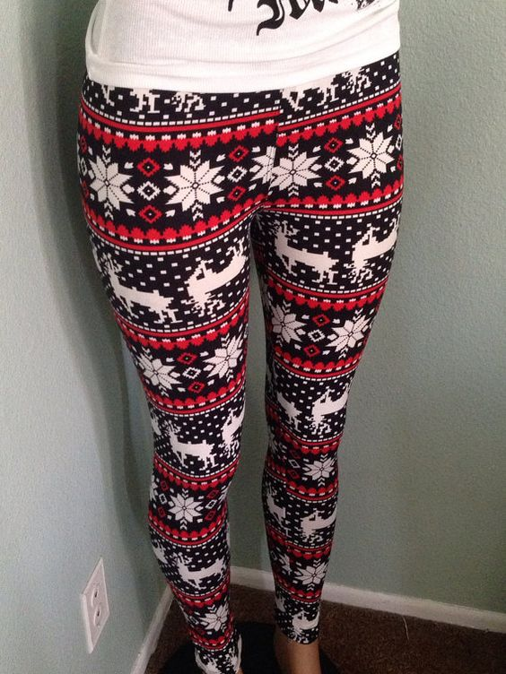 holiday leggings tacky xmas party worthy christmas pinterest xmas family christmas and. Black Bedroom Furniture Sets. Home Design Ideas