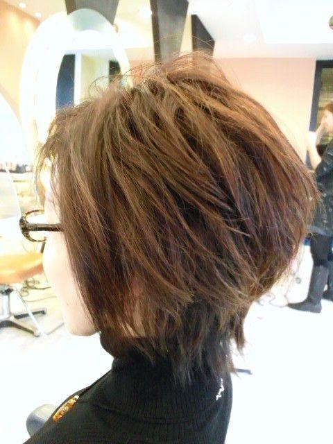 40代 50代 60代ヘアスタイル髪型 50代ショート 50代髪型 60代