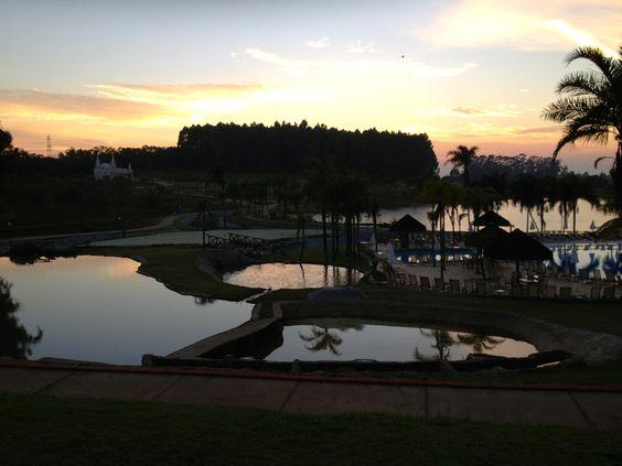 Amanhecer em Cesário Lange - SP - Brasil.
