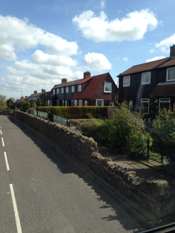 Meadowbank View - the street I grew up on.