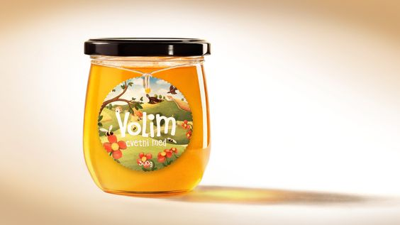 Volim - cvetni med (Love it - flower honey) by Kitchen - Serving Creativity