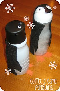Creamer bottle penguin
