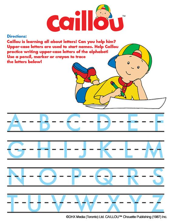 caillou and gilbert coloring pages - Caillou Gilbert Coloring Pages