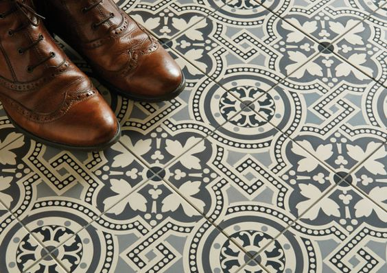 Victorian Floor Tiles by Original Style from Castelnau Tiles