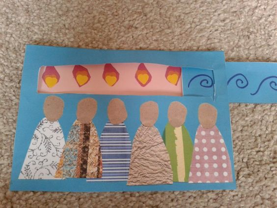 Flame: Creative Children's Ministry  Pentecost tab pull craft
