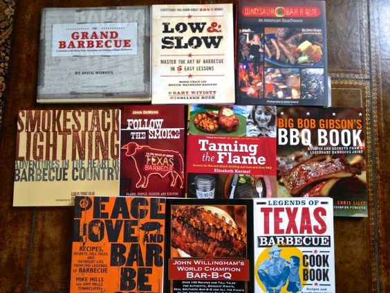 tablebooks small Todds Top 10 Must Read BBQ Books