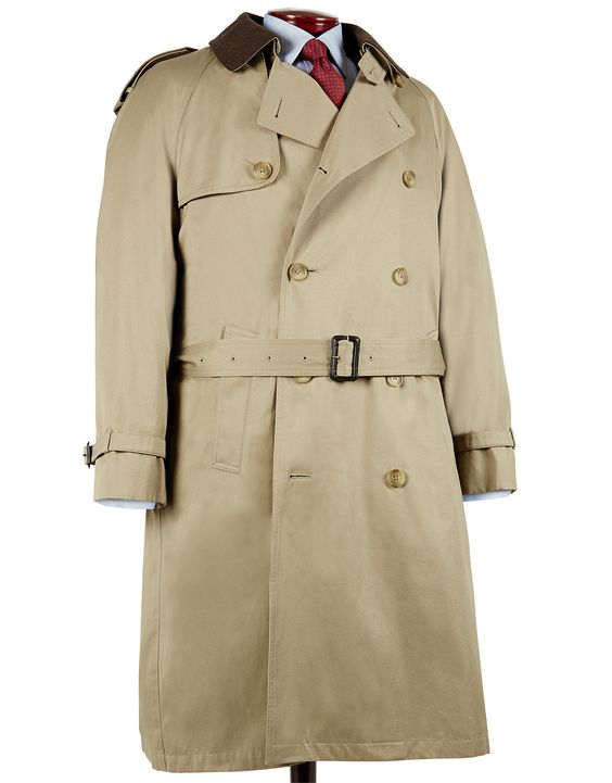 jpressonline.com - DOUBLE BELTED TRENCH-TAN, $425.00 (http://www.jpressonline.com/double-belted-trench-tan/)