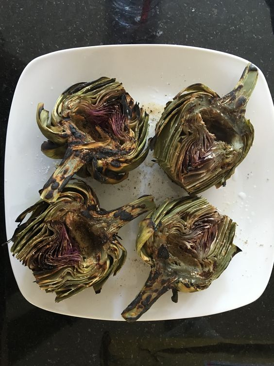 Fresh artichokes are elegant and easy to prepare. Although artichokes aren't in season in Michigan right now, Paul found two beautiful artichokes to accompany tonight's dinner. This is …