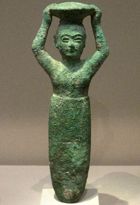 sin of larsa in ancient mesopotamia 1834 1823 bce the bronze statues
