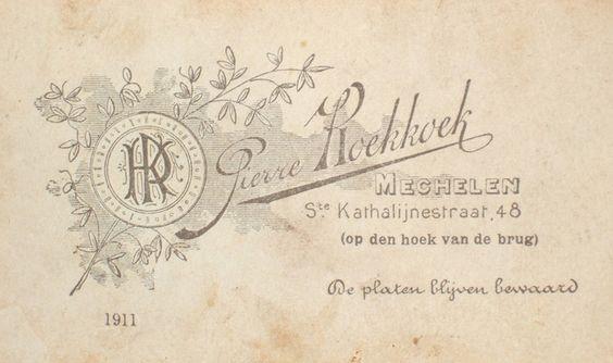 KOEKKOEK Pierre (2) - Mechelen (Delcampe.be)