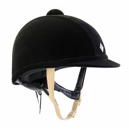 Special Offers Available Click Image Above: Charles Owen Ayr 8 Classic Helmet With Black Harness