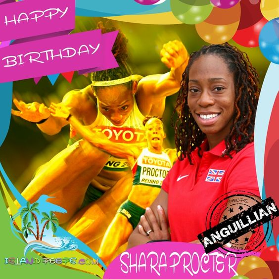 Happy Birthday Shara Proctor!!! Anguillan-born Olympic Long Jumper!!! Today we celebrate you!!! @SharaProctor #Sharaproctor #islandpeeps #islandpeepsbirthdays #Olympic #LongJumper #Anguilla