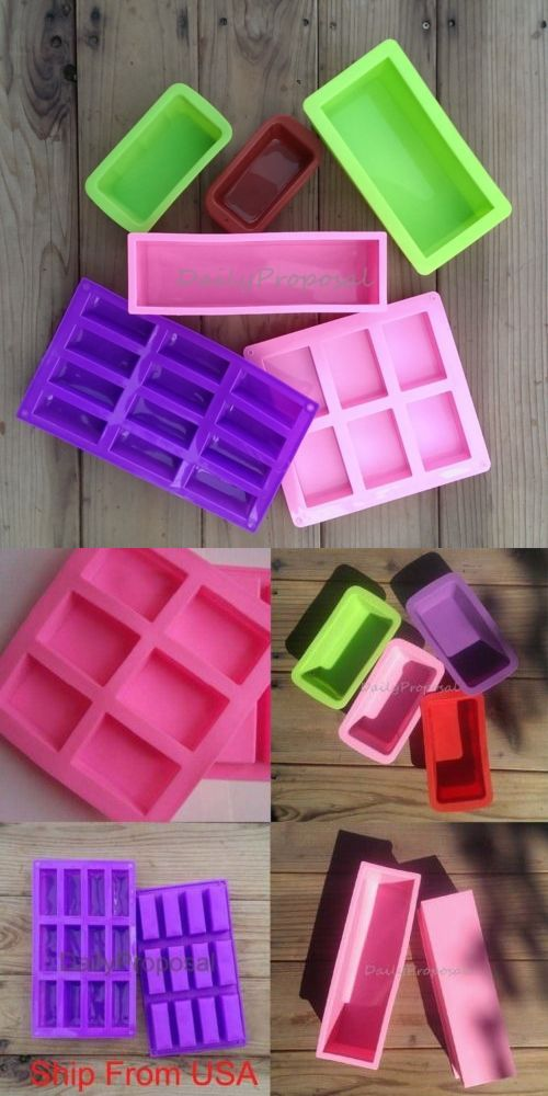 Longzang Silicone Soap Molds Shapes Flowers Soap Mold Silicone Soap Molds Round rectangle