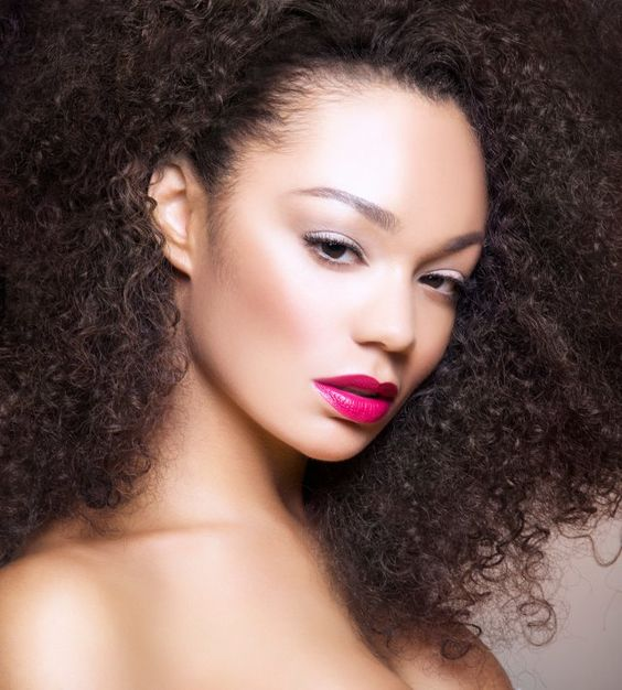 Chanta Patton; striking hair, striking beauty