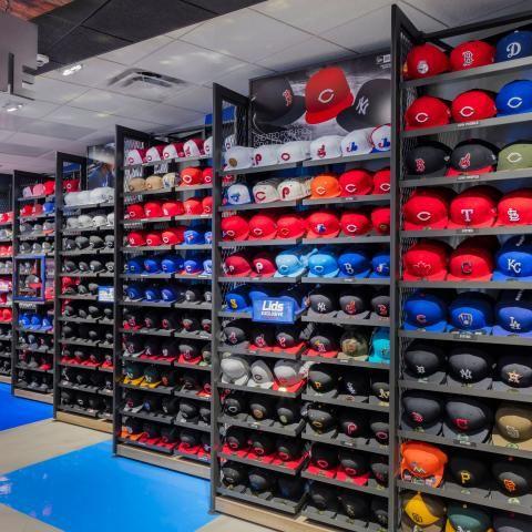 Lids Sports Group Opto In 2021 Diy Hat Rack Cap Store Store Design