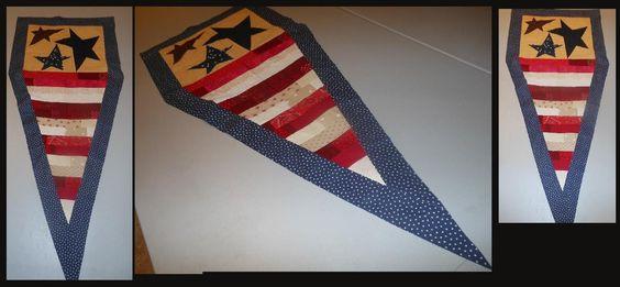 Flag for the front door