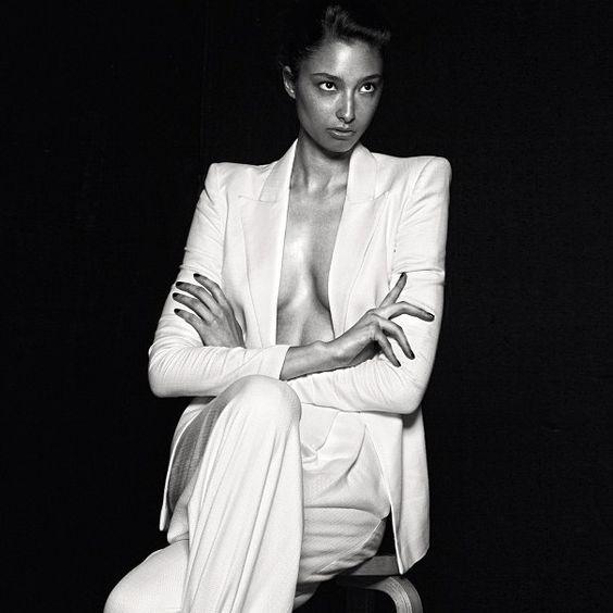 Alexandra Agoston by Chris Colls for Vogue Italia