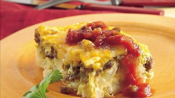 Tex-Mex Sausage and Egg Bake