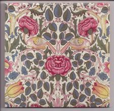 Bird & Rose tile by William Morris. Arts & Crafts movement