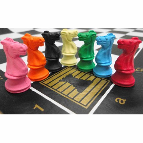 Knight Chess Erasers