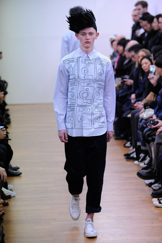 Comme des Garcons Shirt Fall 2015 Invierno #Menswear #Trends #Tendencias #Moda Hombre